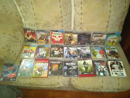 Lote de juegos para ps3 24 juegos