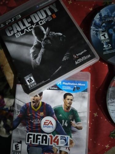 Lote juegos ps3 originales/fifa,cod...