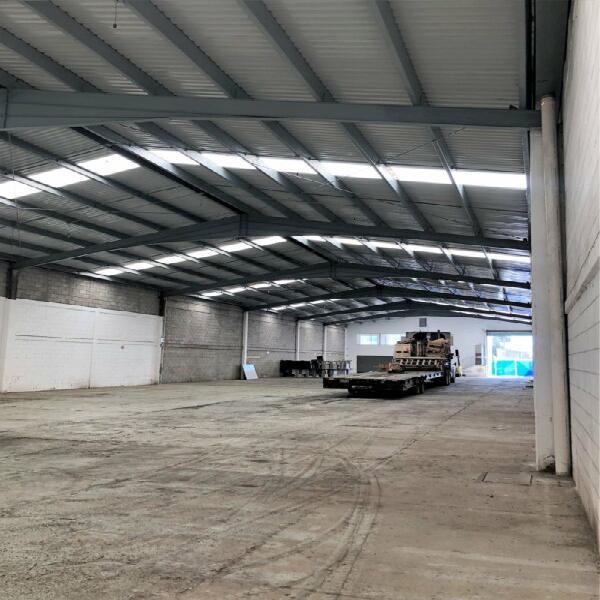 Nave industrial 1180 m2 en renta lerma