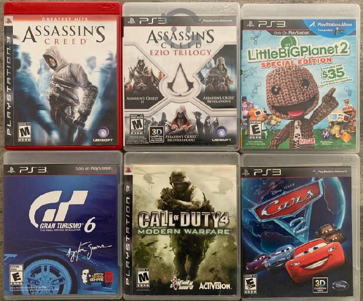 Ps3 - juegos originales seminuevos