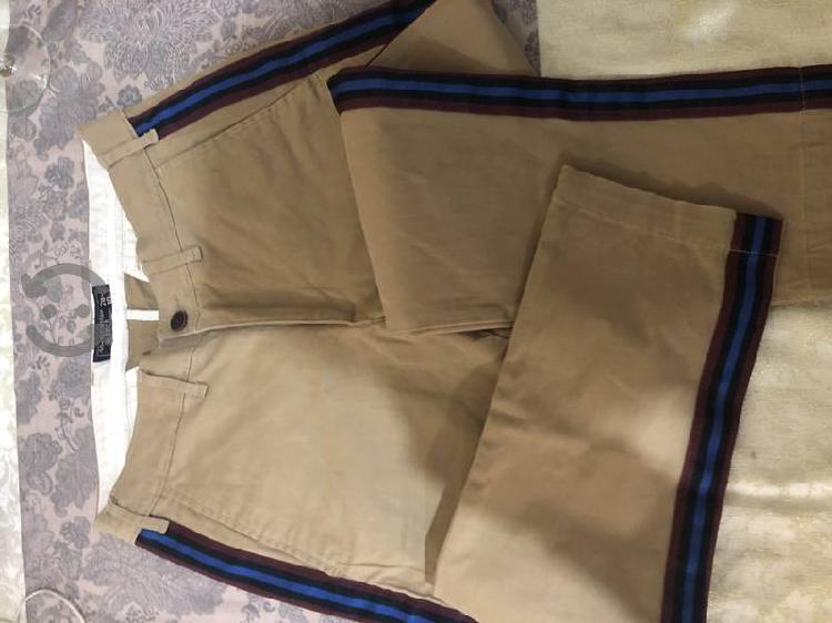 Pantalón abercrombie de gabardina