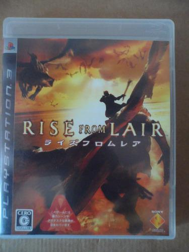 Ps3 playstation rise from lair japones juego anime vieogame