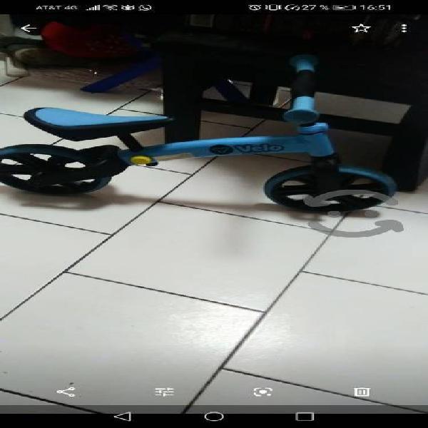 Bicicleta marca yvelo junior para niños