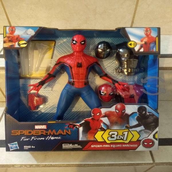 Hombre araña 3en1