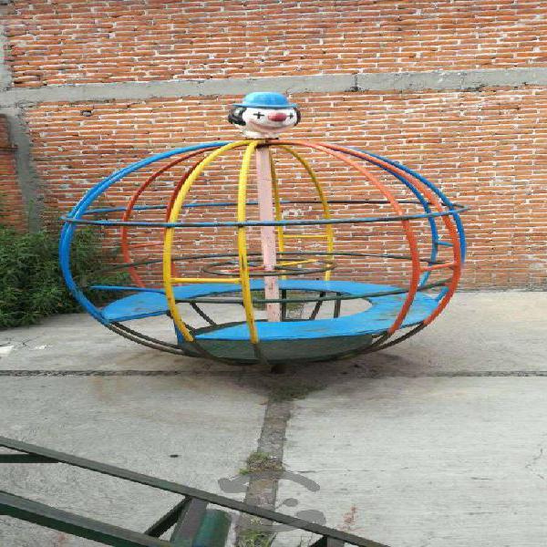 Conjunto juegos infantiles para jardin metalicos