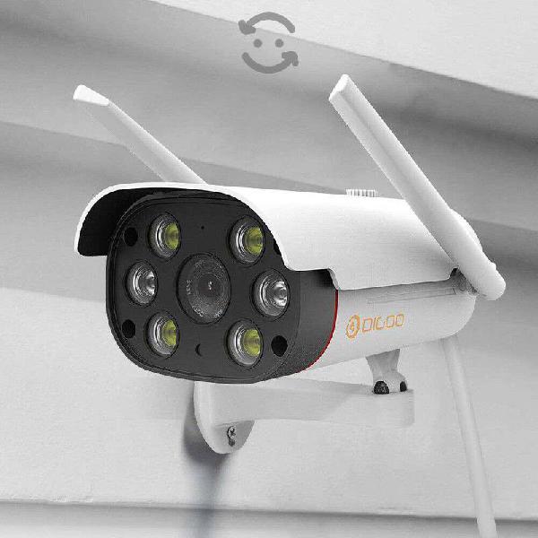 Camara de vigilancia vision nocturna intemperie