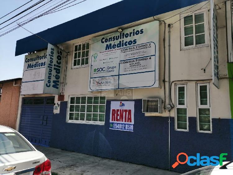 Local en renta en gustavo a madero, san juan de aragon, consultorios en renta de 10 m2