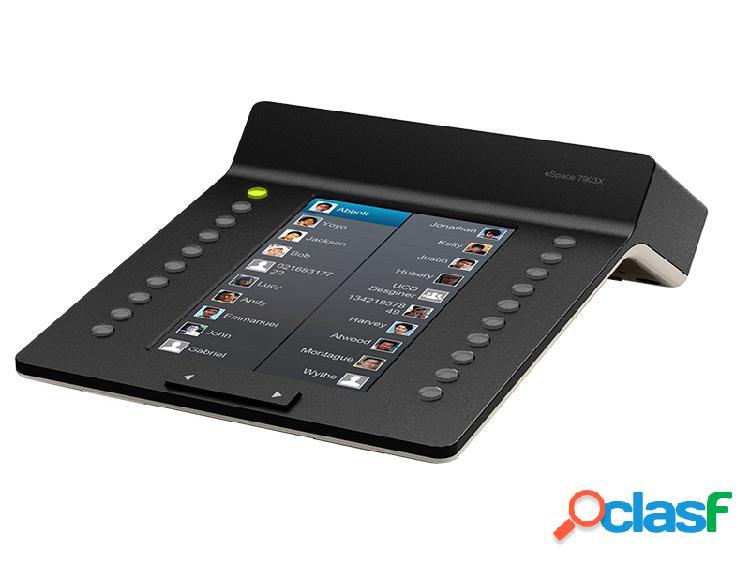 Huawei módulo de expansión space 7903x, pantalla lcd, para teléfono dect, negro