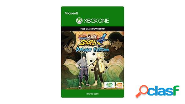 Naruto shippuden: ultimate ninja storm 4 deluxe edition, xbox one - producto digital descargable