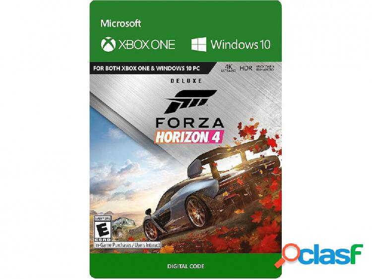 Forza horizon 4: deluxe edition, xbox one - producto digital descargable