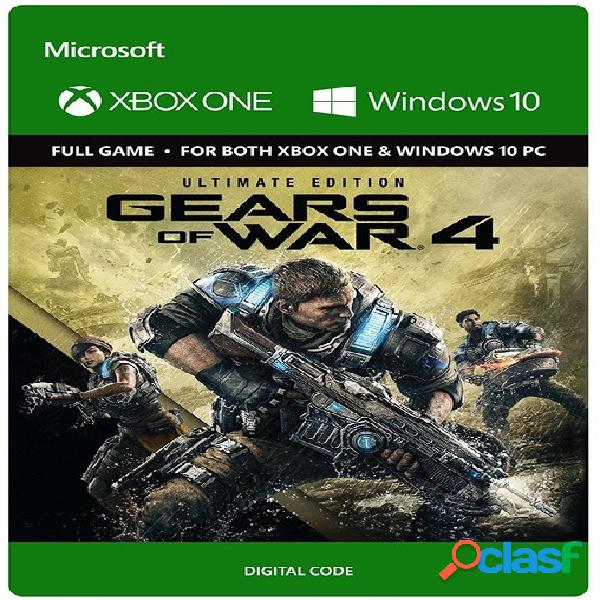 Gears of war 4 ultimate edition, xbox one - producto digital descargable