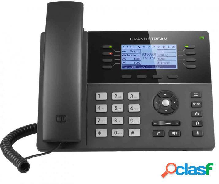 Grandstream teléfono ip gxp1780, 8 líneas, 4 teclas programables, altavoz