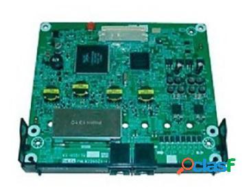 Panasonic tarjeta de expansión kx-ns5170x, 4 extensiones hibridas, para kx-ns500