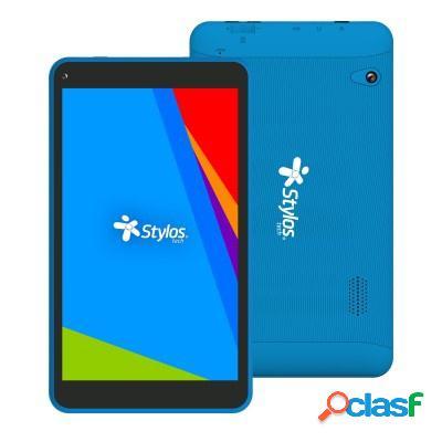 "Tablet stylos sttta85a 7"", 16gb, 1080 x 940 pixeles, android 9.0, bluetooth 4.0, azul"