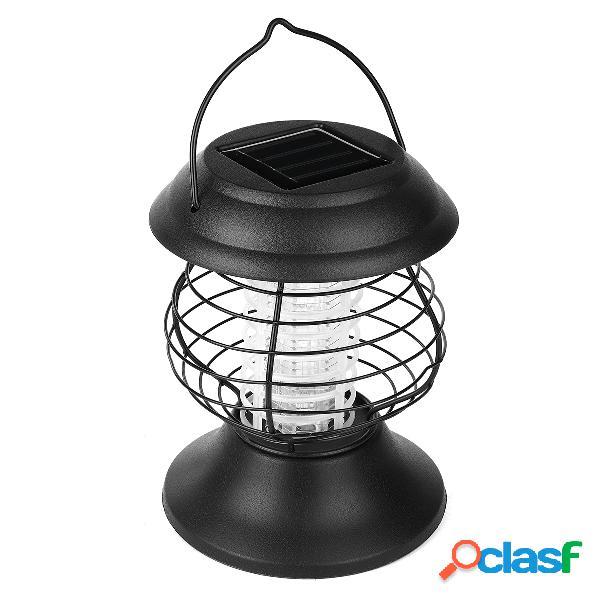 Luz al aire libre plástica del jardín de la forma de la linterna de la lámpara del mosquito