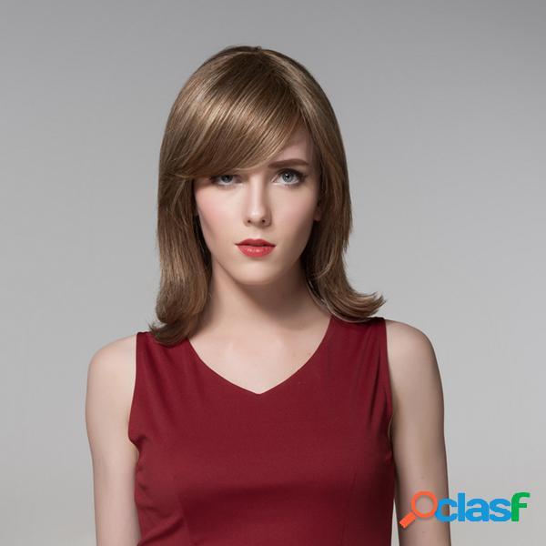 7 colores lado bang pelucas medias medias virgen remy mono tapa sin tapa