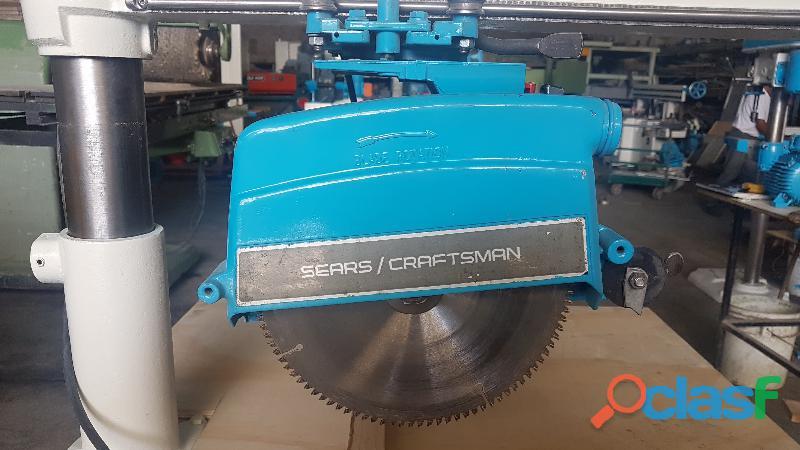 "Sierra radial Craftsman 40 cm disco 10"" Ø 7"