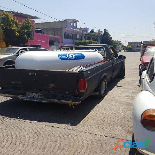 Tanque estacionario de 1000lts en la zona de Amecameca
