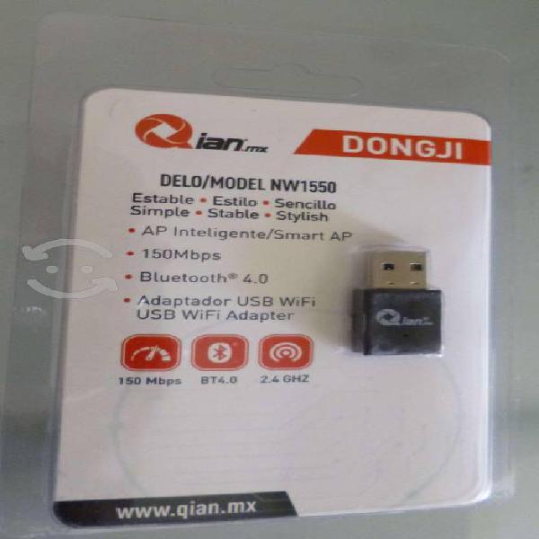 Adaptador usb wifi con bluetooth 4.0 qian