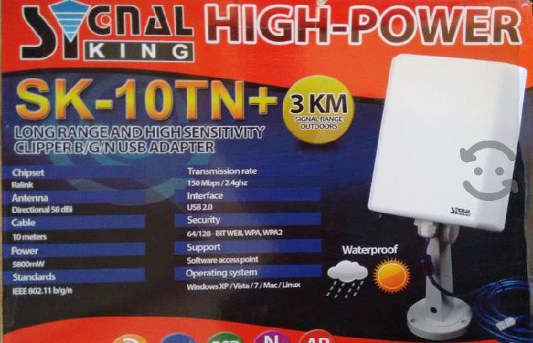 Antena para wifi usb lago alcance