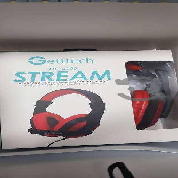 Audífonos alambricos con micrófono para videojuego