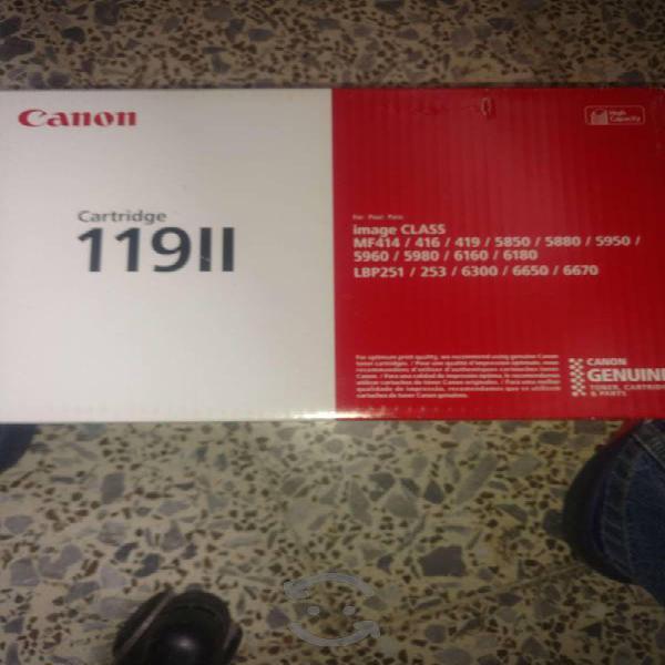 Cartucho canon 119ii