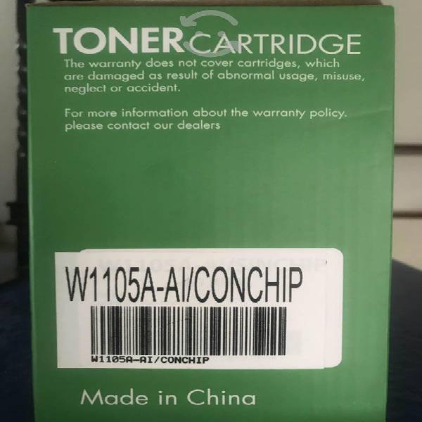 Cartucho de toner hp 105 con chip