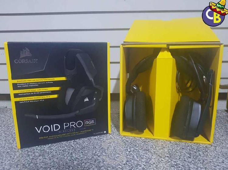 Headset corsair void pro rgb negros