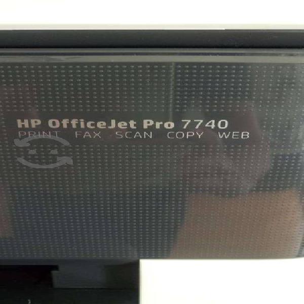 Impresora seminueva hp officejet pro 7740