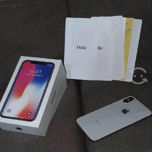 Iphone x de 64gb telcel estéticamente como nuevo
