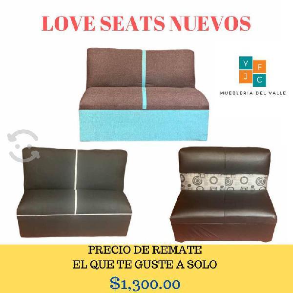 Love seats nuevos