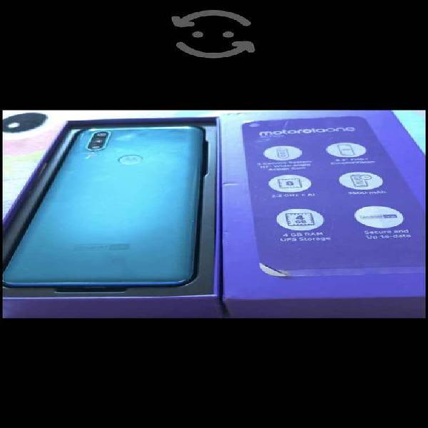 Motorola one action exelentes condiciones