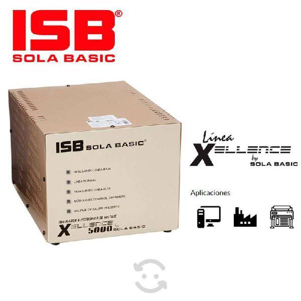 Regulador isb xellence 5000, monofasico/bifasico