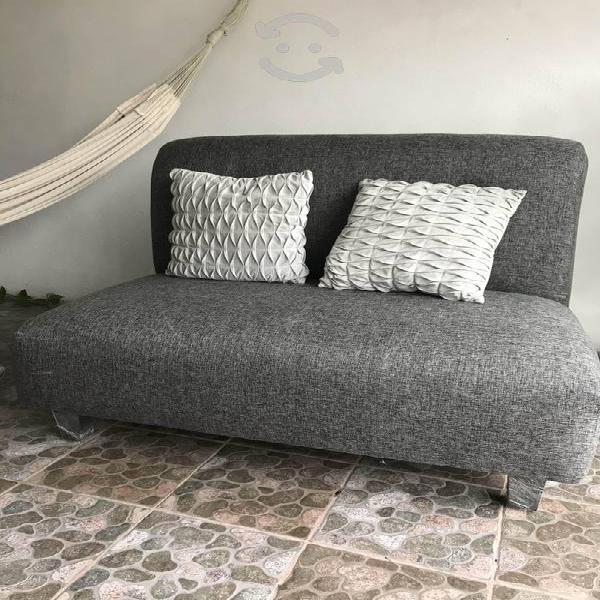 Sillón love seat gris nuevo