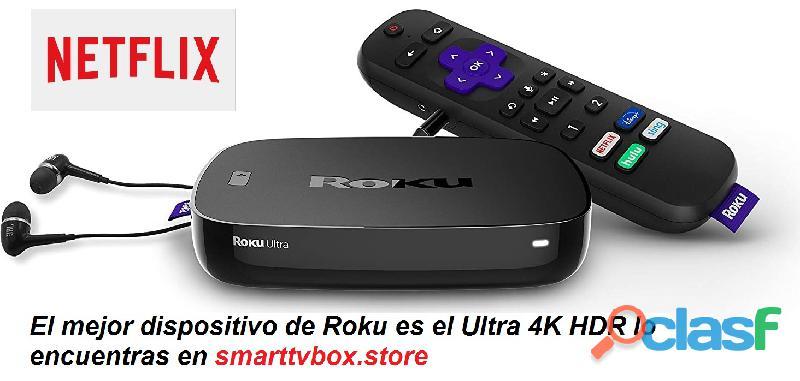 Roku ultra 4k hdr el mejor dispositivo de la marca
