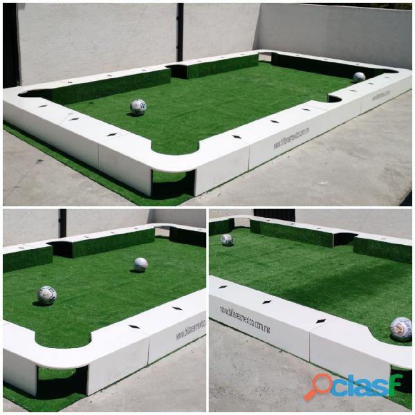 Mesa gigante para jugar futbol y billar