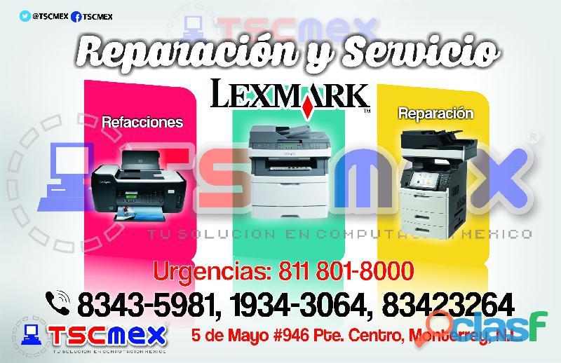 Reparación de impresoras láser lexmark san nicolás