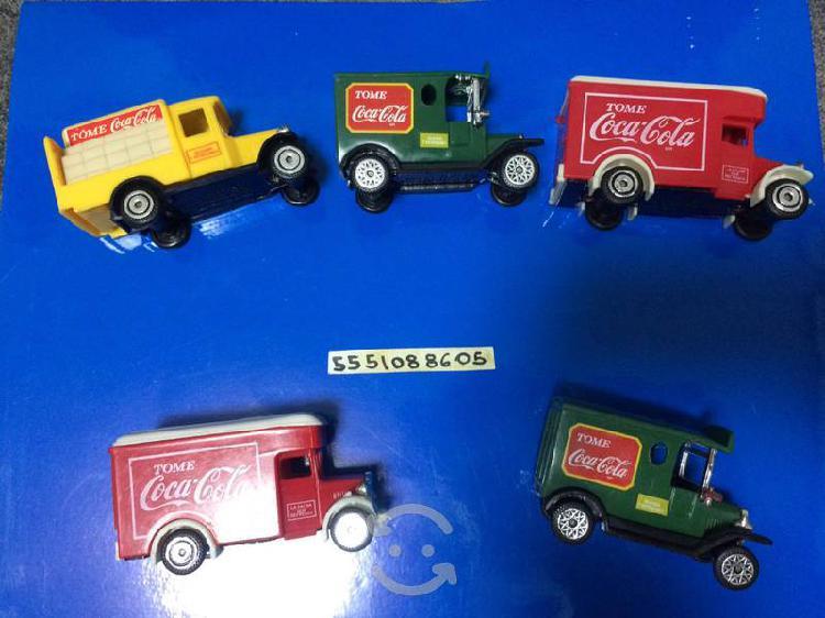 Carritos vintage coca cola