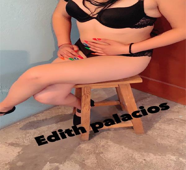 Edith linda chica de cuerpo esbelto y cachondo