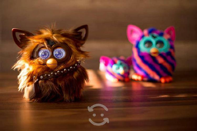 Furby chewbacca (furbacca) star wars
