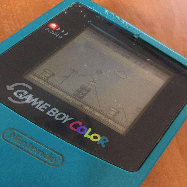 Gameboy color azul