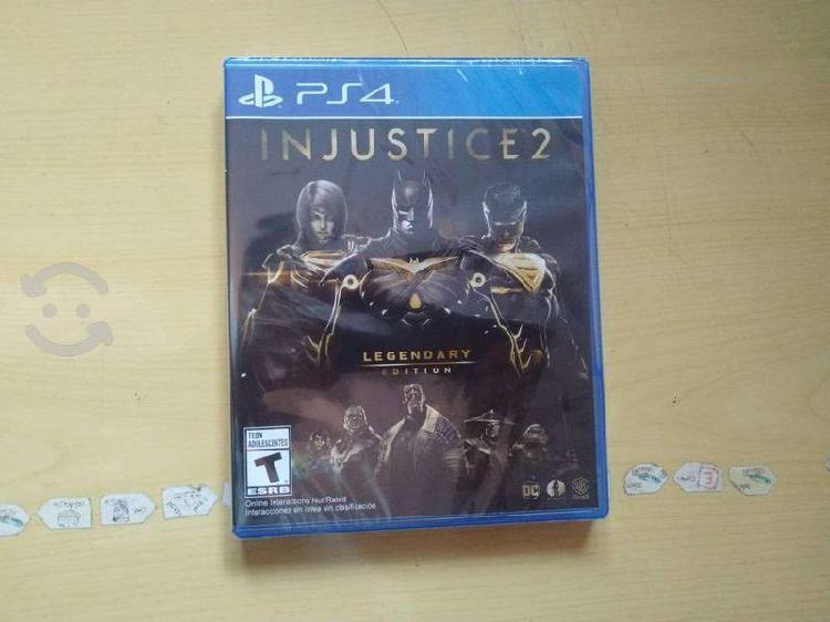 Juegos ps4 injustice 2 legendary edition
