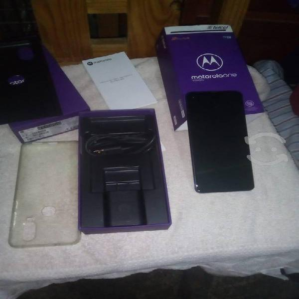 Motorola one vison 128gb excelente estado