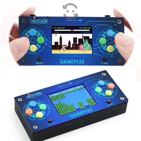 Retro consola portatil con pantalla - raspberry pi