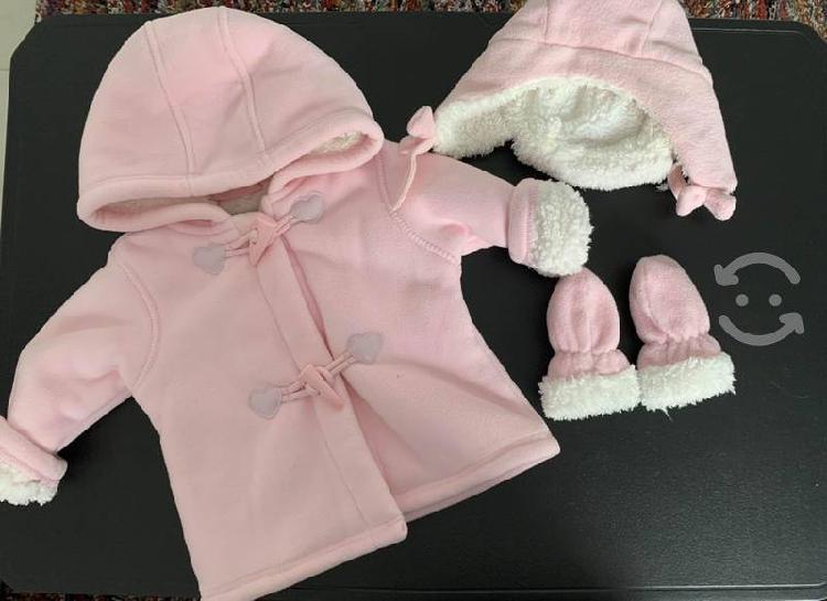 Ropa de invierno bebé niña 9 y 12 meses