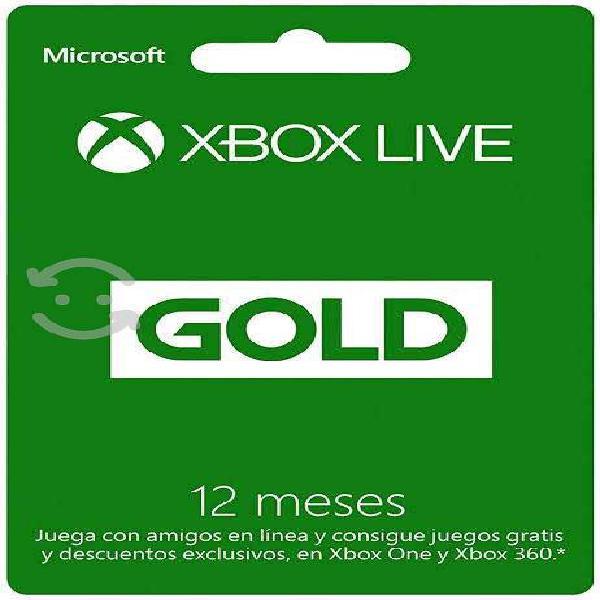 Xbox live 12 meses