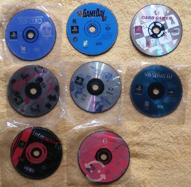 Juegos originales para playstation 1