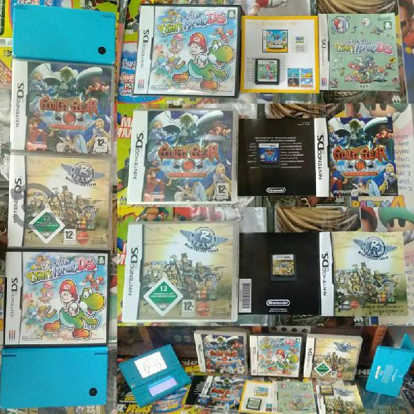 Nintendo dsi y juegos d
