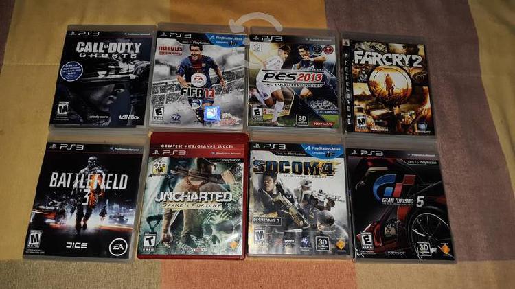 Ps3 juegos varios precios