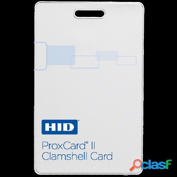 Hid identity tarjeta de proximidad clamshell proxcard ii 1326, 5.4 x 8.6cm, blanco, 100 piezas, para lectores hid